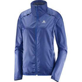 Salomon Agile Wind Jacket Women Medieval Blue
